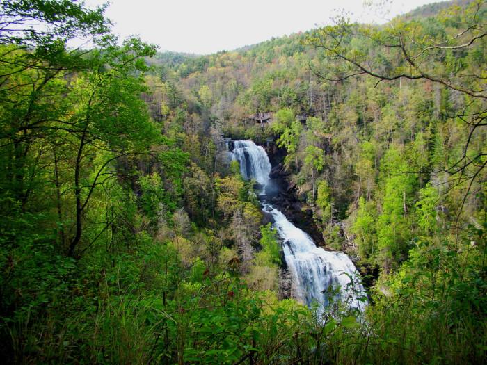 10. Upper Whitewater Falls
