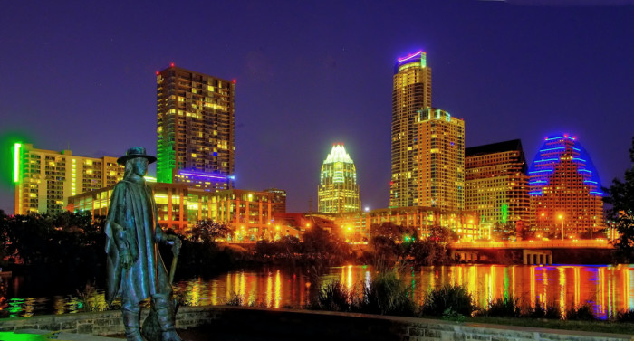 11. Austin sucks - Psh, could have fooled us! Hello, beautiful!