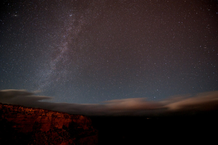 5. Our ridiculously dark skies…