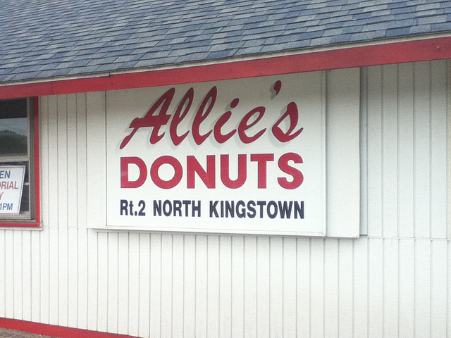 1. Allie's Donuts, North Kingstown