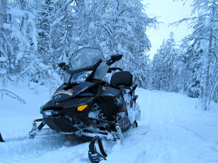 7. We were the first to begin think about the snowmobile.