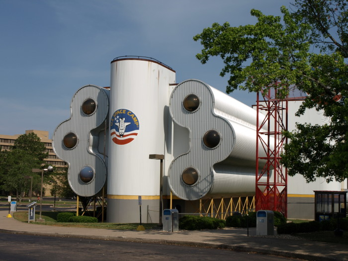 2. The one and only Space Camp is located here.