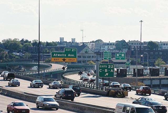 4. I-95 in Downcity, Providence