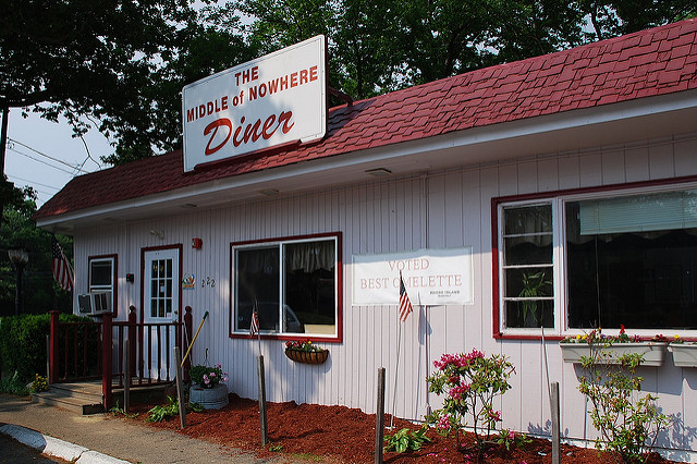 5. Small town restaurants