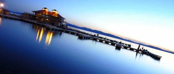 3.  Catch Lake Champlain when the water is as smooth as glass.