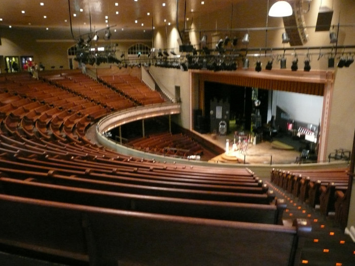3) Go to a show at the Ryman.