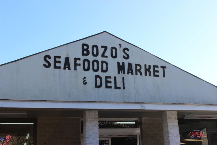 Day 2 Lunch: Bozo's, Pascagoula