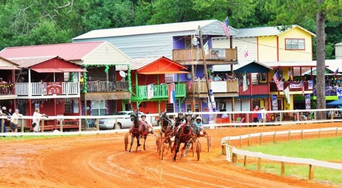 6. Check out the Neshoba County Fair.
