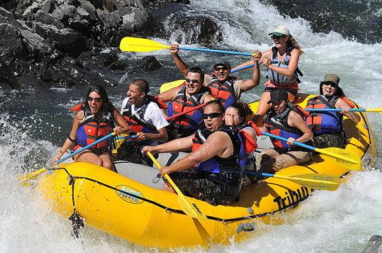 8. American River: White Water Rafting