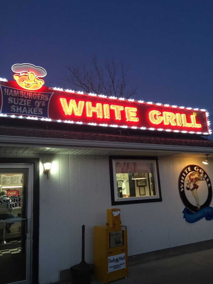 Dinner Day Two:  White Grill, Nevada
