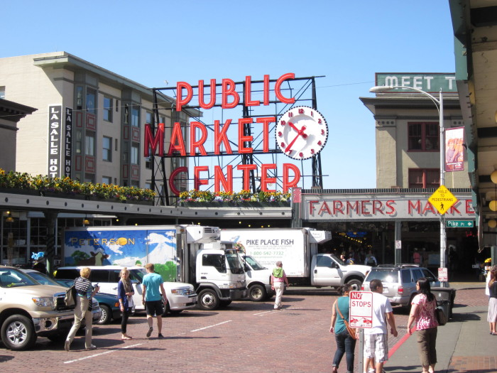 6. Check out the international stores at Pike Place Market.