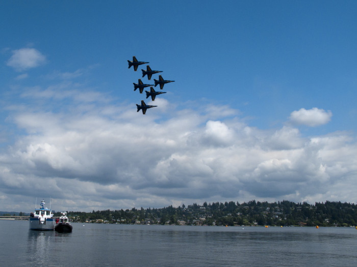7. Experience Seafair in Seattle.