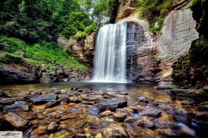 2. Visit waterfalls in the summer and find the perfect one to take a dip in.