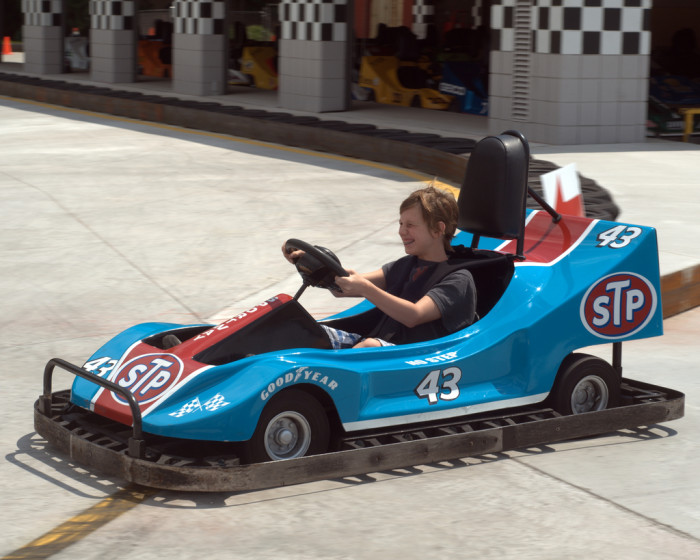 10. Zip around the race track and channel your inner NASCAR driver at one of the state's outdoor or indoor tracks.