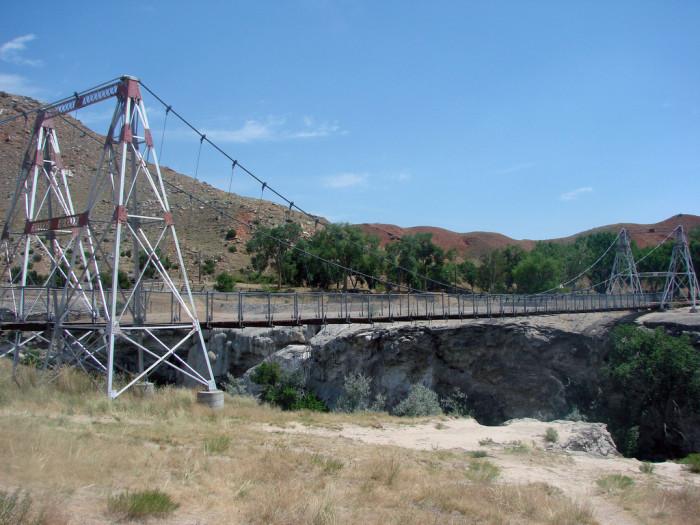 4. Swinging Bridge