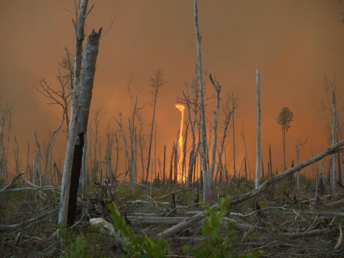 3. Fire Tornadoes in Missouri