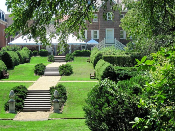 6. William Paca Garden, Annapolis