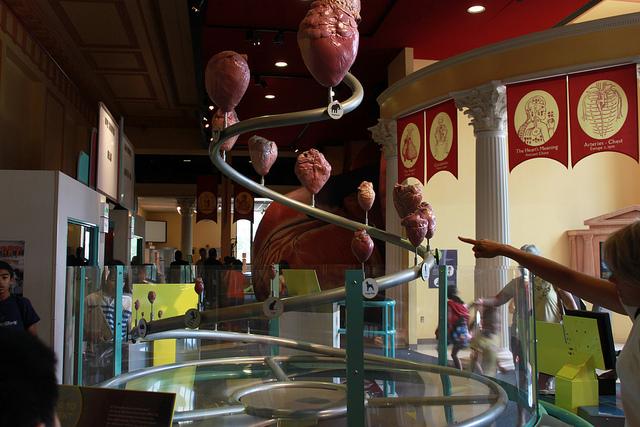 1. The Ben Franklin Science Museum in Philadelphia