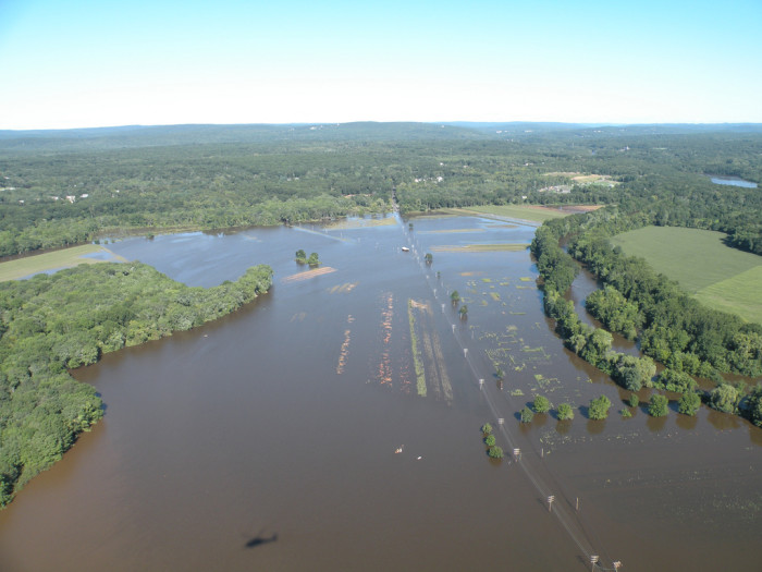 8. Windsor Locks after Hurricane Irene.