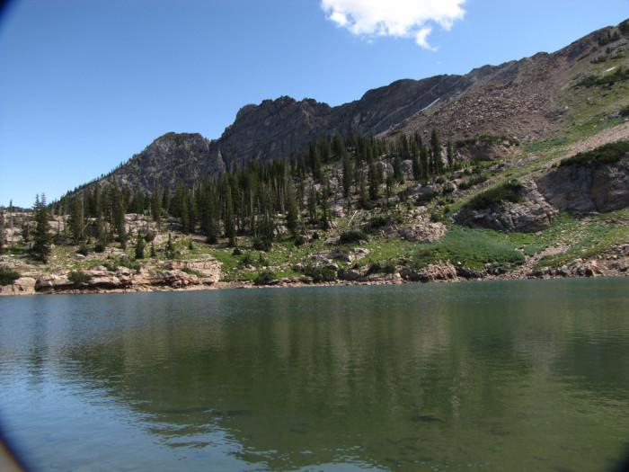 13. Choosing a hiking trail, camping spot or lake.