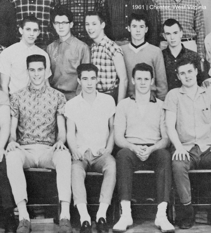 10. This a 1961 yearbook shot from Chester High School.