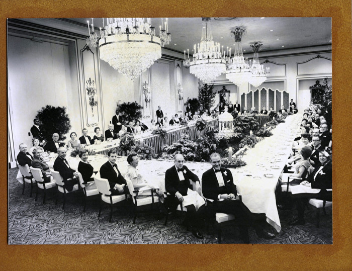 2. This was taken at the 1962 C&O / B&O Annual Staff Meeting and Christmas Party at The GreenbrierDecember 13, 1962 at The Greenbrier in White Sulfur Springs, West Virginia. The Crystal Room.