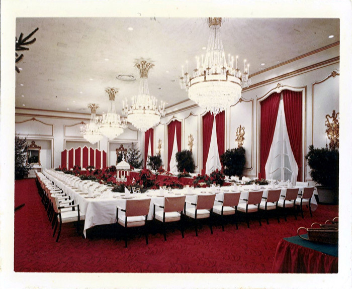 3. Here's another photo from inside the Greenbrier in the 1960s.