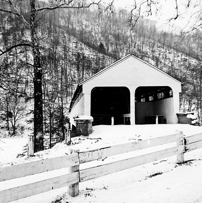 5. This was taken in the West Virginia Mountains in February 1963.