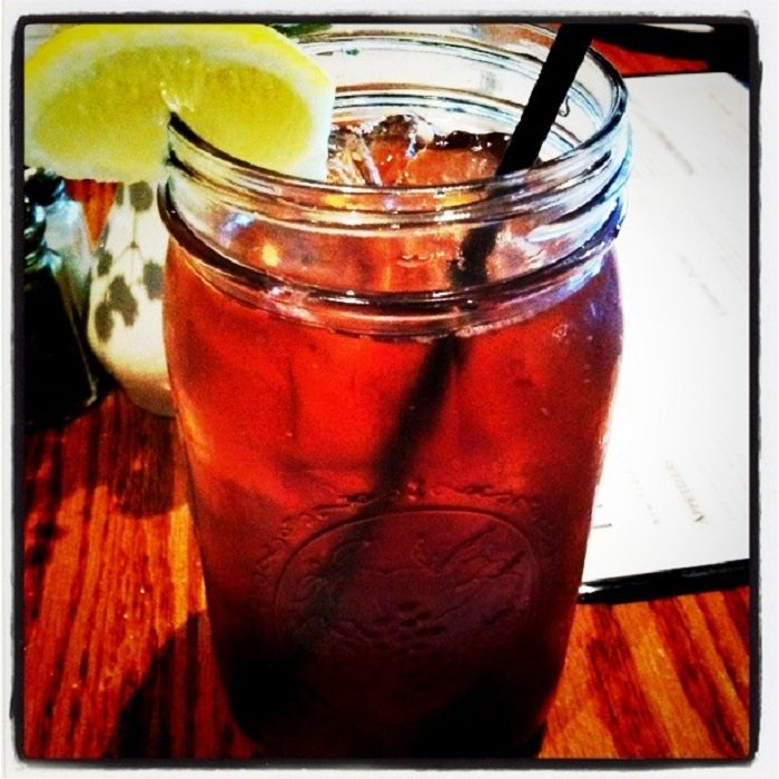 10. ...sipping sweet tea.
