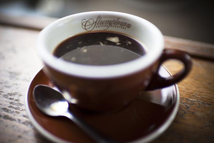 4. ... and Oregon coffee.