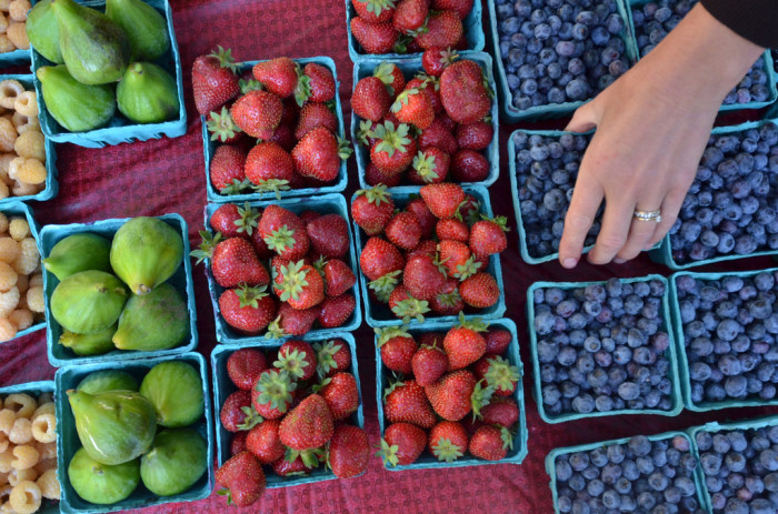 5. Check out your local Farmer's Market.