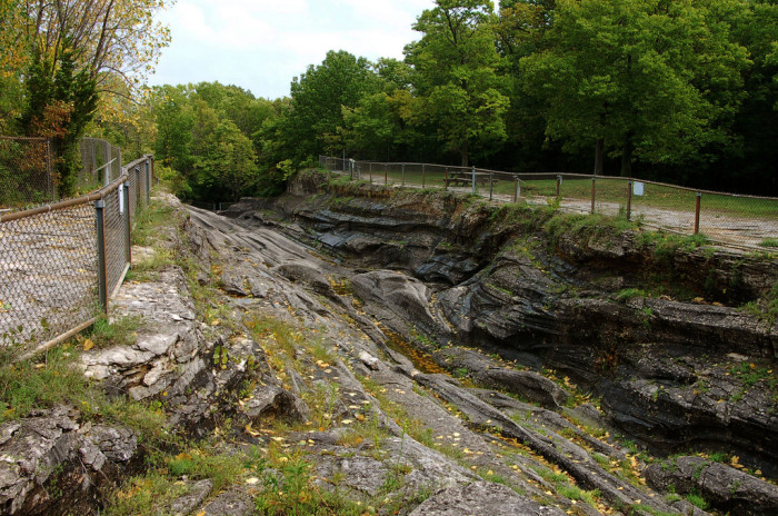 13. Speaking of dramatic, fancy geographical features, Ohio is home to the largest accessible glacial grooves IN THE WORLD.