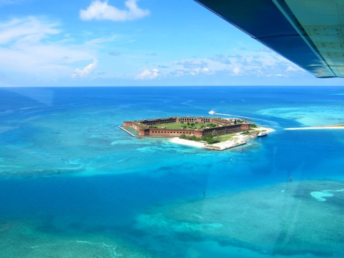 10. Fort Jefferson in Key West, Florida.