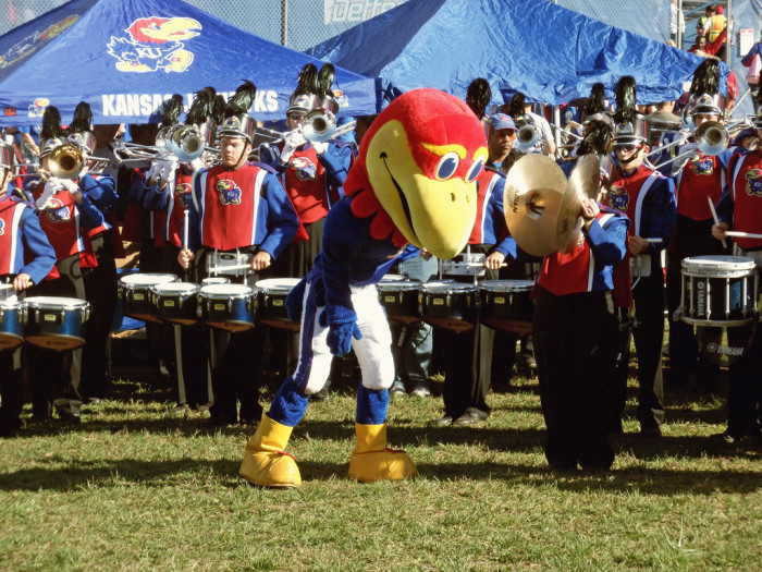 4. ...and Rock Chalk?
