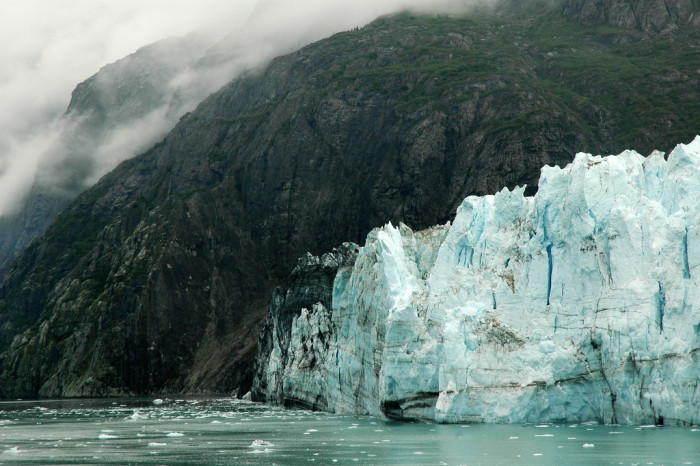 8. Glaciers may be slow moving giants, but let's not forget what took down the Titanic.