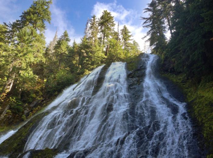 9. Diamond Creek Falls