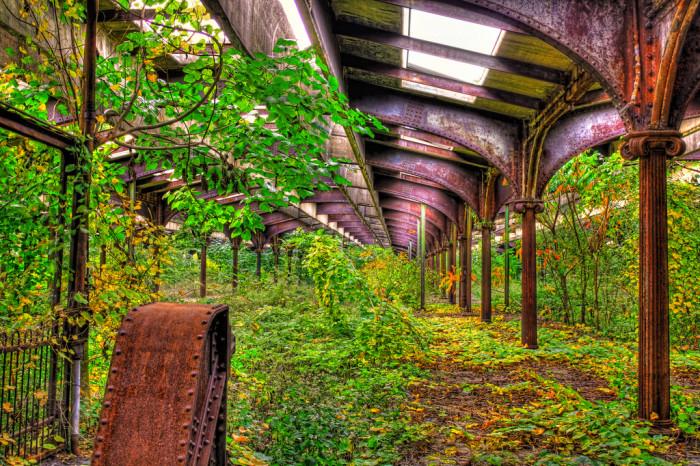 Abandoned Railroad Terminal