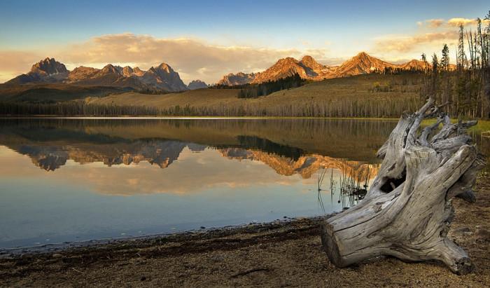 8. Little Redfish Lake
