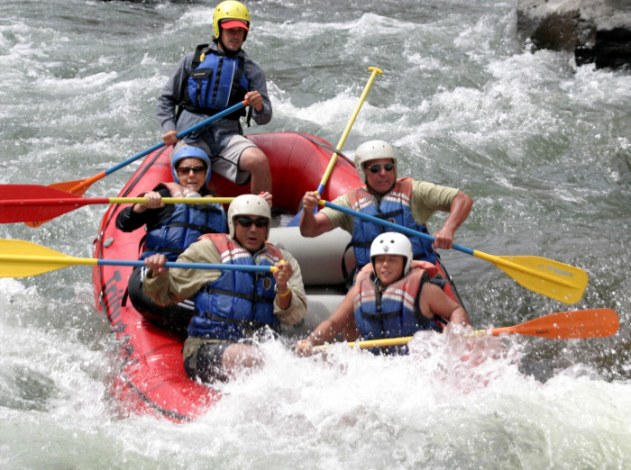 2. Go whitewater rafting down the Truckee River.