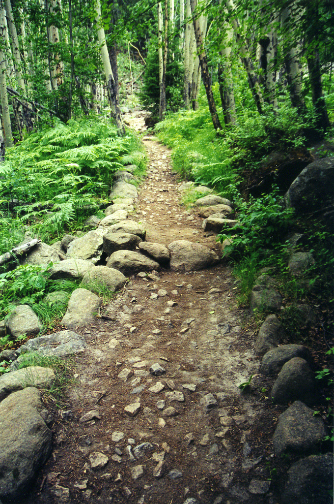 4. It's time to take advantage of the outdoors by hiking...