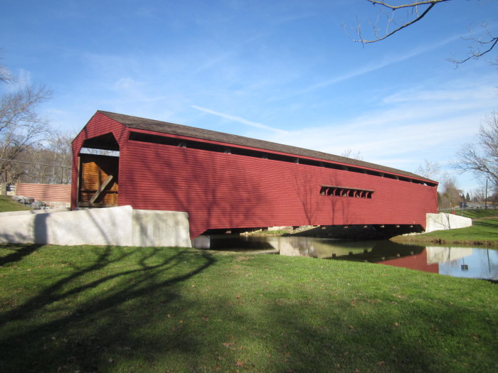 14. All of Maryland's remaining covered bridges