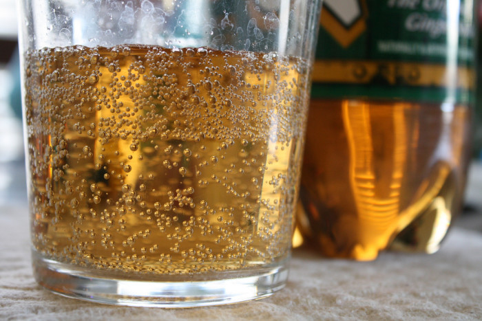 7. You've discovered the healing powers of Vernor's.