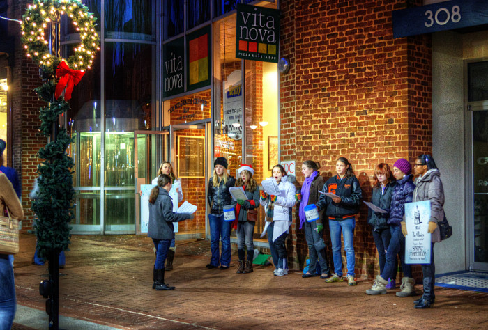 7. Connecticut knows a thing or two about caroling.