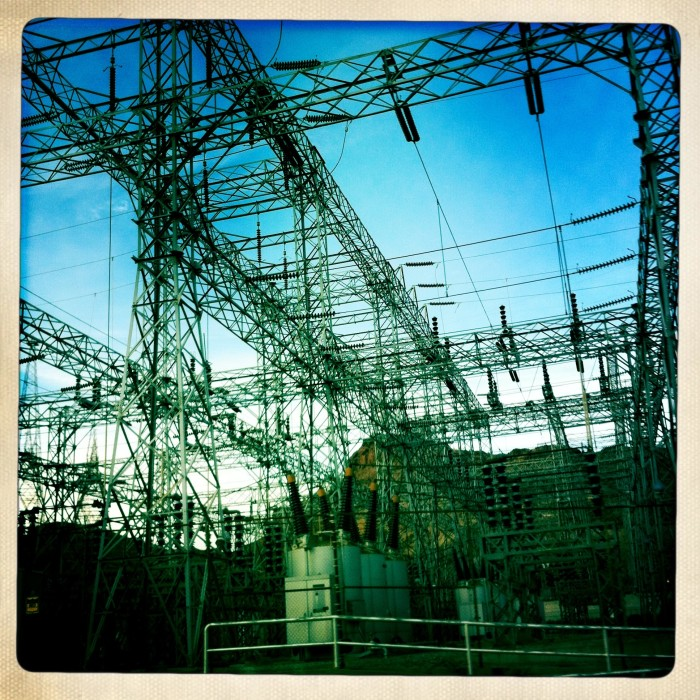 10. Today, Hoover Dam helps power three states - California, Arizona and Nevada.