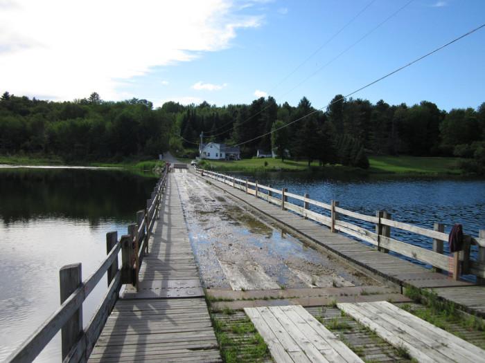 9.  Floating Bridge