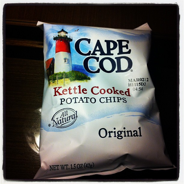 3. When you want Cape Cod Potato chips but all the convenience store has is Lays.