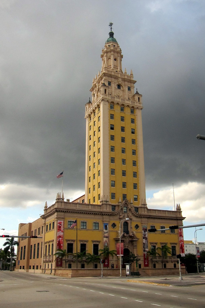 6. Can you name this building that was originally constructed as the headquarters for The Miami News?
