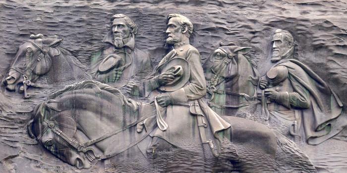 4. Stone Mountain Memorial Carving—1000 Robert E. Lee Blvd, Stone Mountain, GA 30083