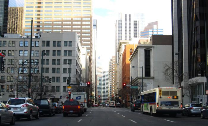 8.) Present day Denver Financial District.