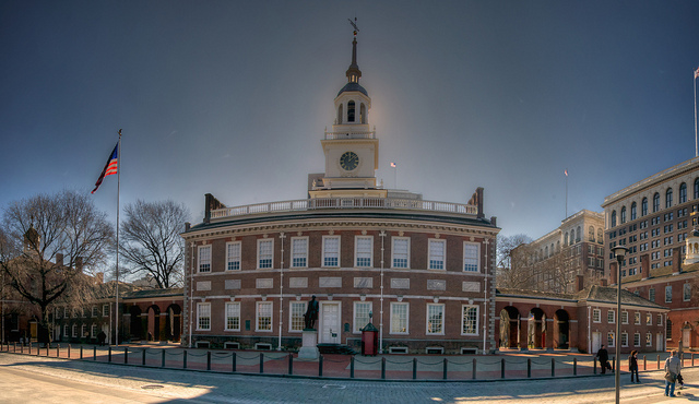 7. Learn about our nation's history, either at Independence Hall...